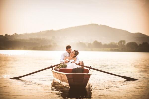 Matrimonio Barcaccia Lago di Candia