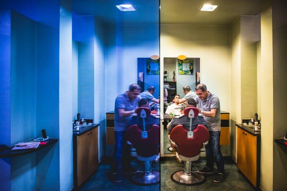fotografo matrimonio sposo parrucchiere
