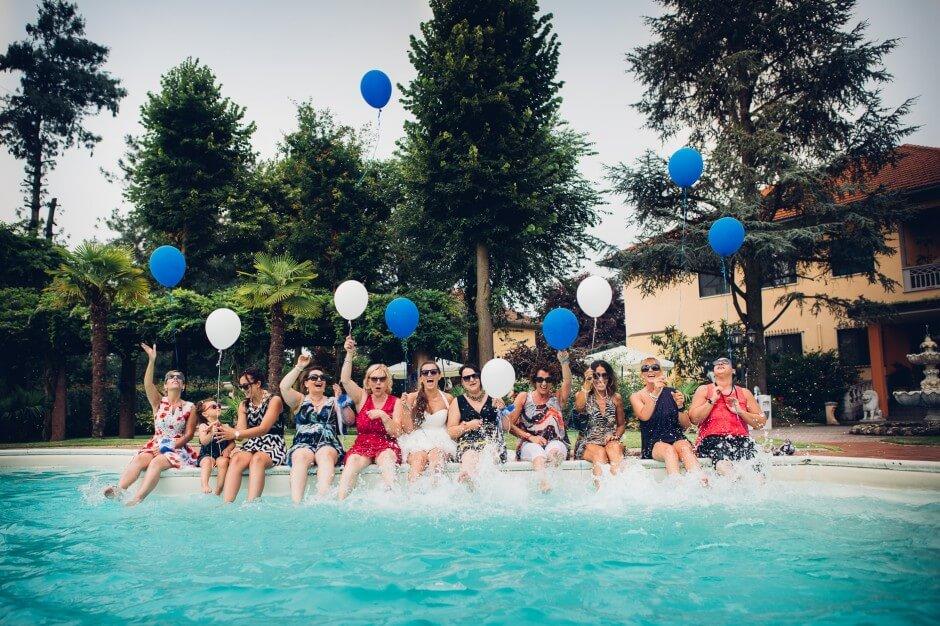 Ristorante La Reggia Torrazza piscina