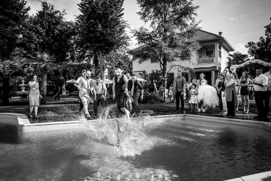 Ristorante La Reggia Torrazza Piemonte piscina