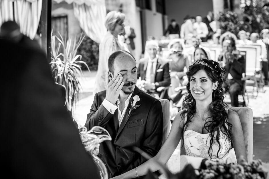 lacrime commozione matrimonio fotografo