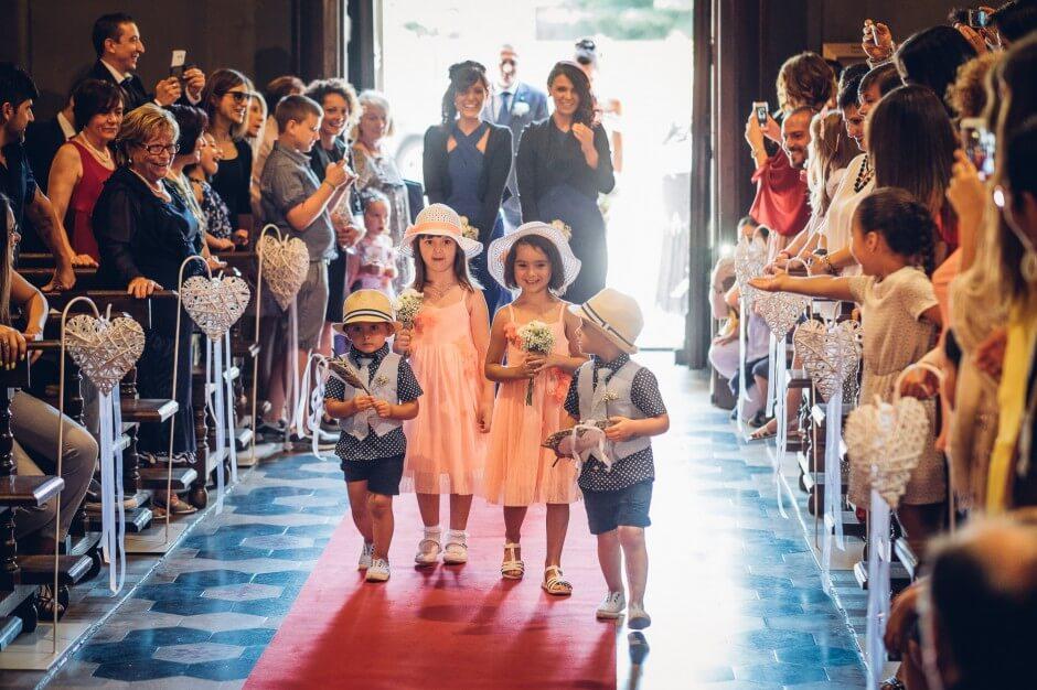 Fotografo matrimonio damigelle