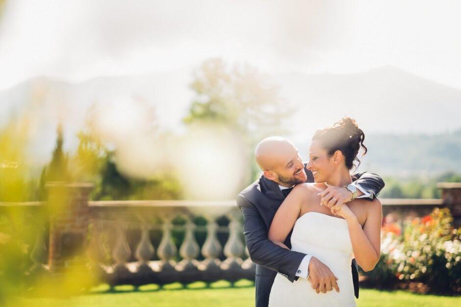 Ritratti matrimonio Villa Merlin