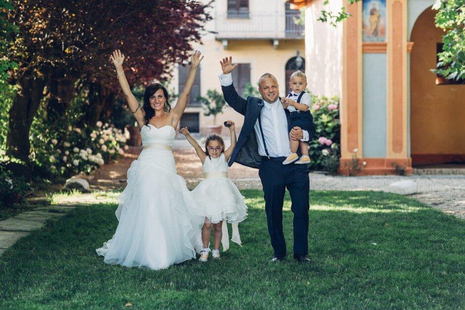 matrimonio con i figli