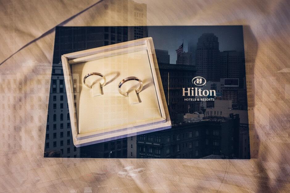hotel hilton wedding california