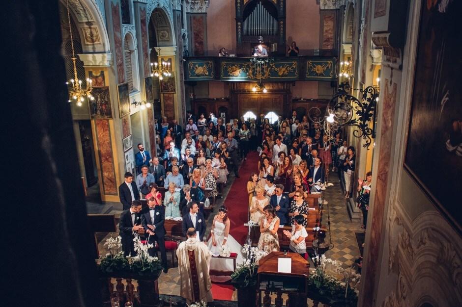 cerimonia matrimonio chiesa farigliano