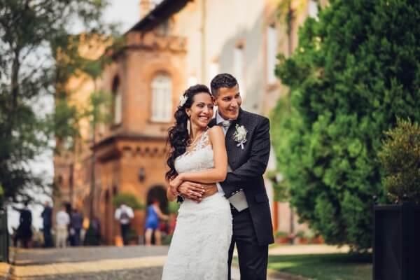 fotografo matrimonio all'aperto