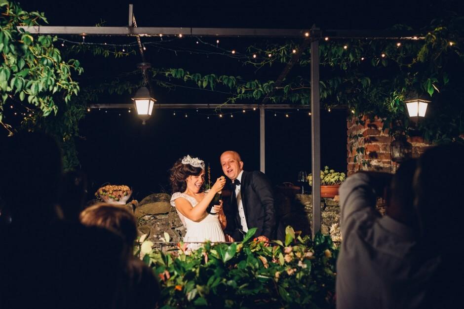 lanterne volanti matrimonio ricevimento