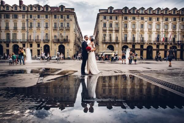 matrimonio piazza castello tenuta la michelina