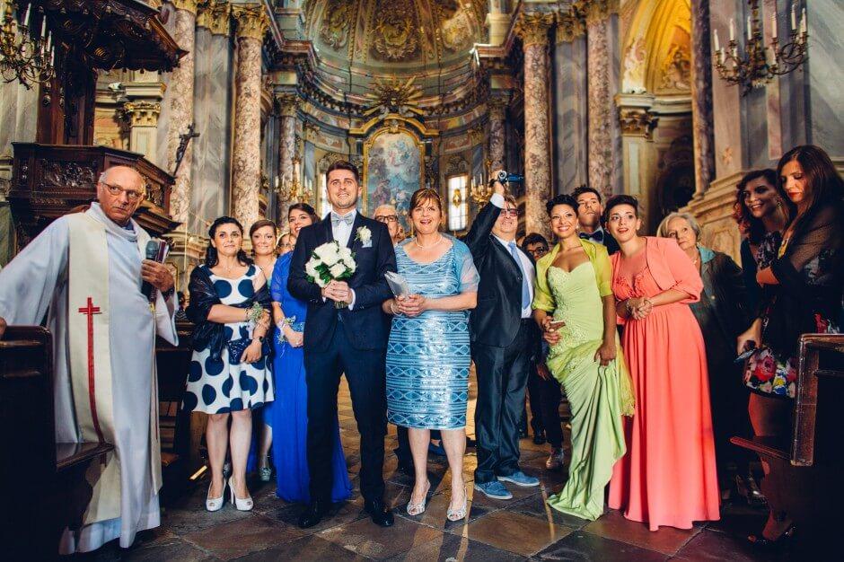 foto nozze Chiesa Racconigi