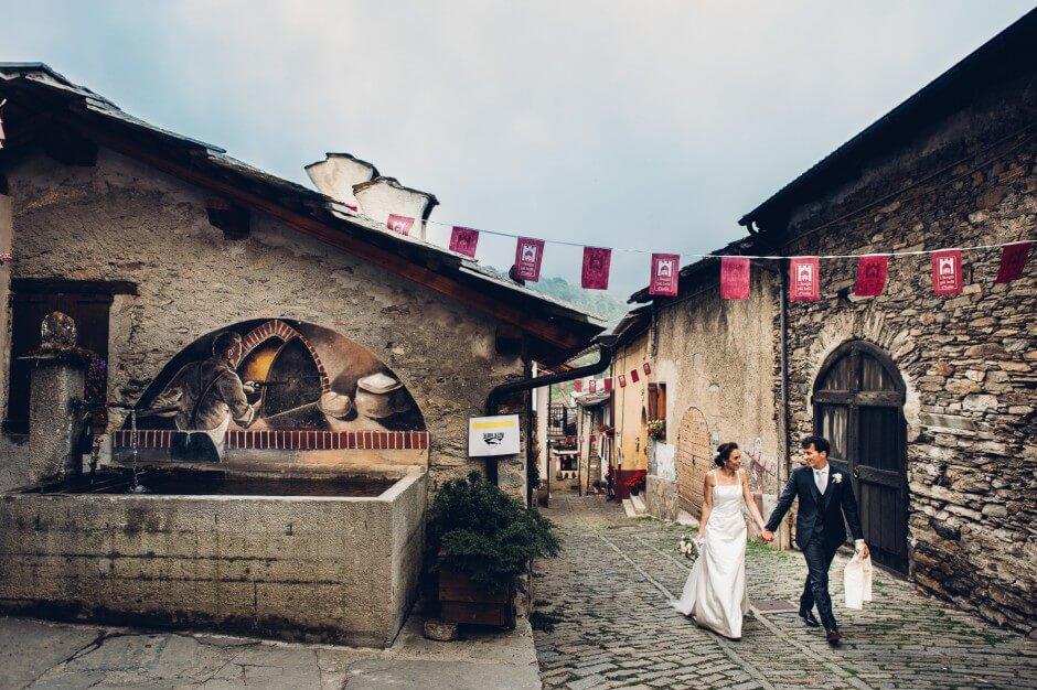 fotografo matrimonio in montagna fenestrelle
