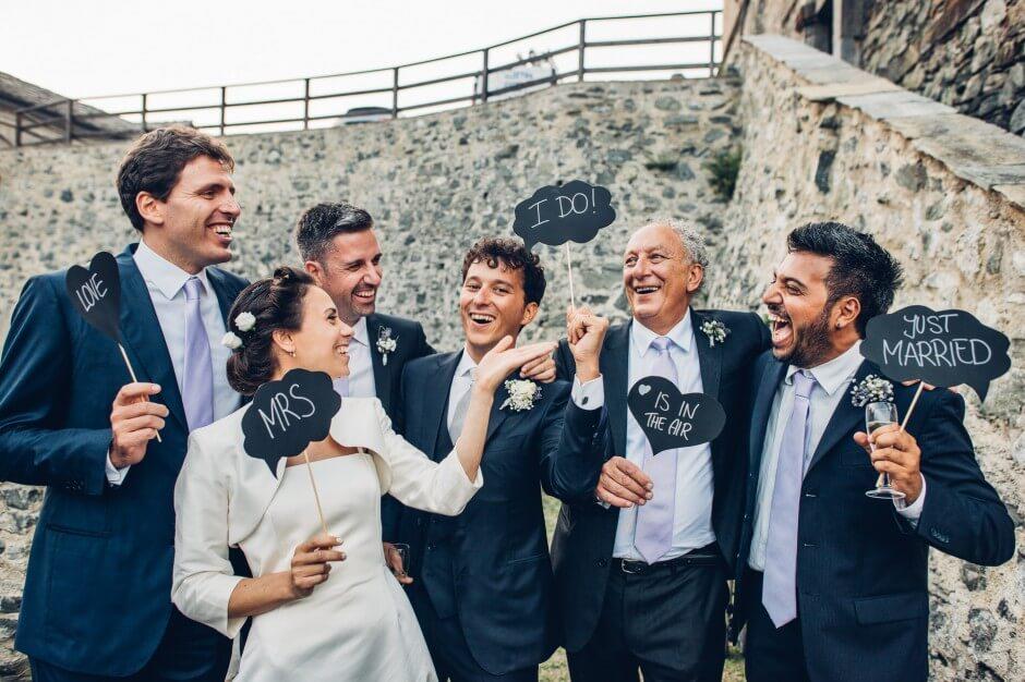 matrimonio cartelli forte fenestrelle