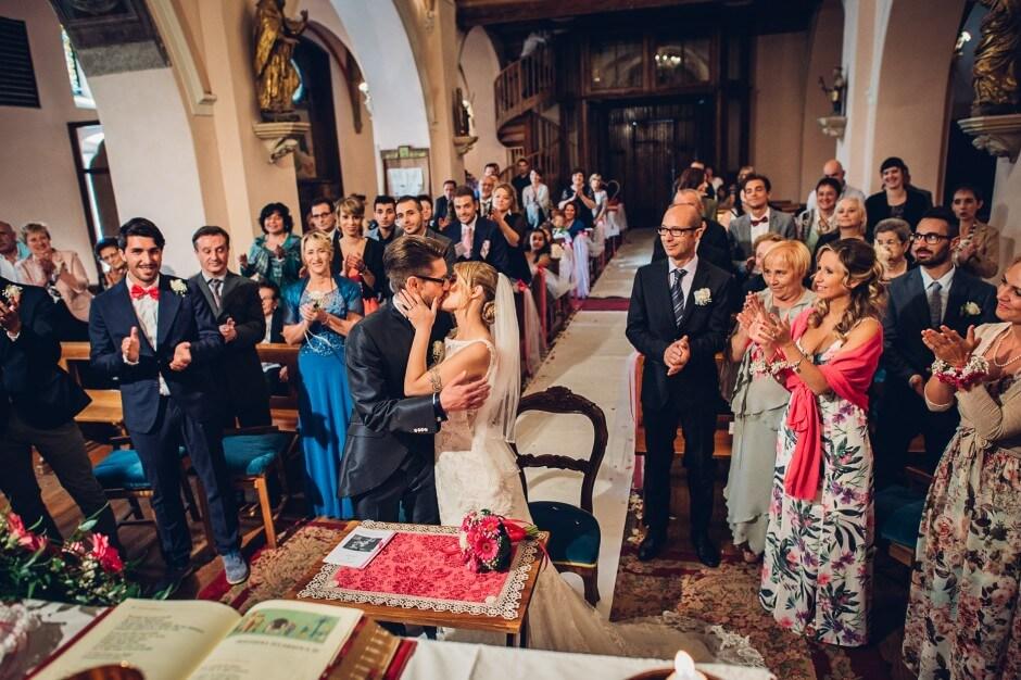 fotografo matrimonio chiesa gignod