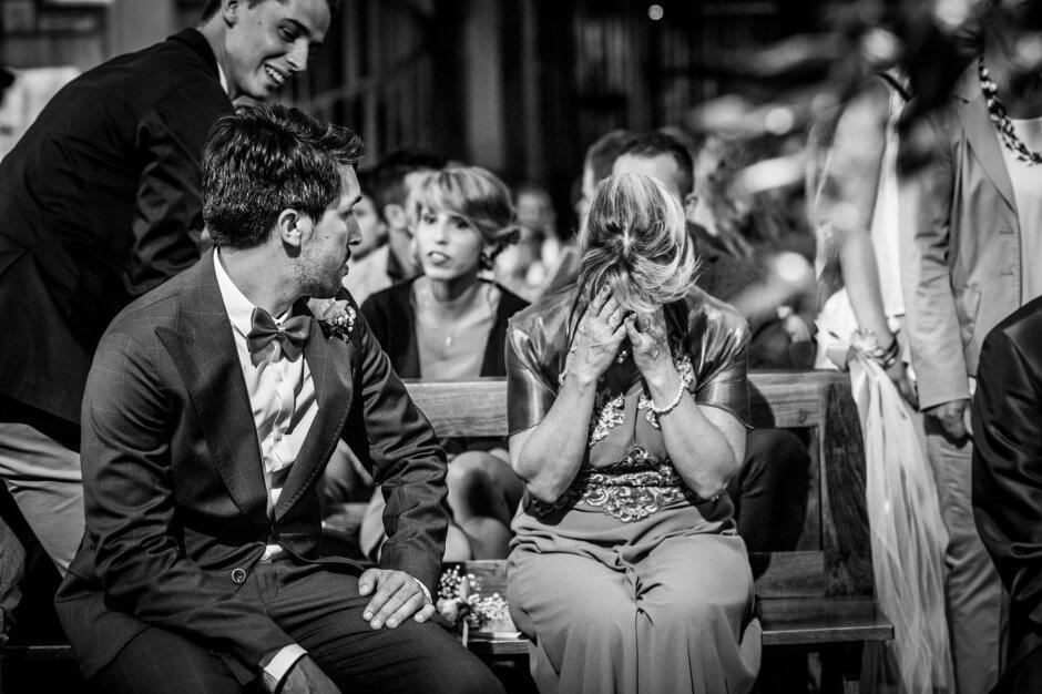fotografo matrimonio emozione chiesa