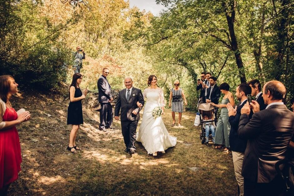matrimonio in location susa