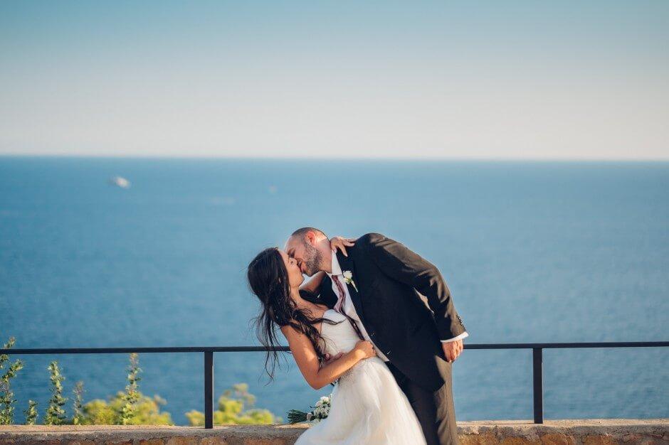 fotografo matrimonio ibiza bacio