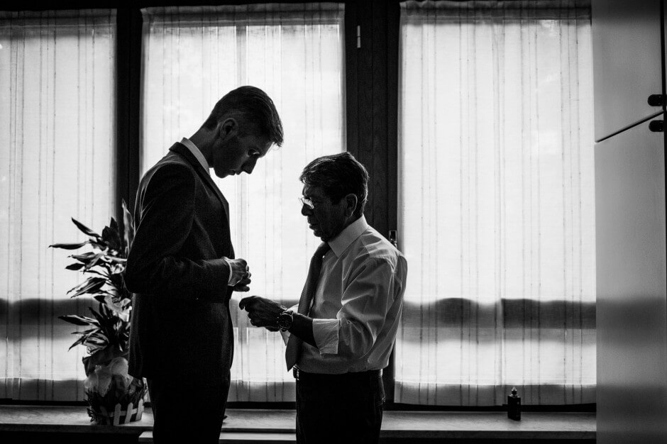 fotografo matrimonio preparazione sposo