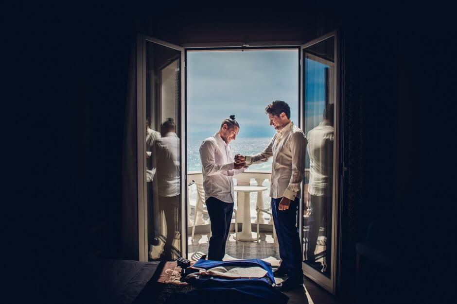 fotografo matrimonio bordighera mare