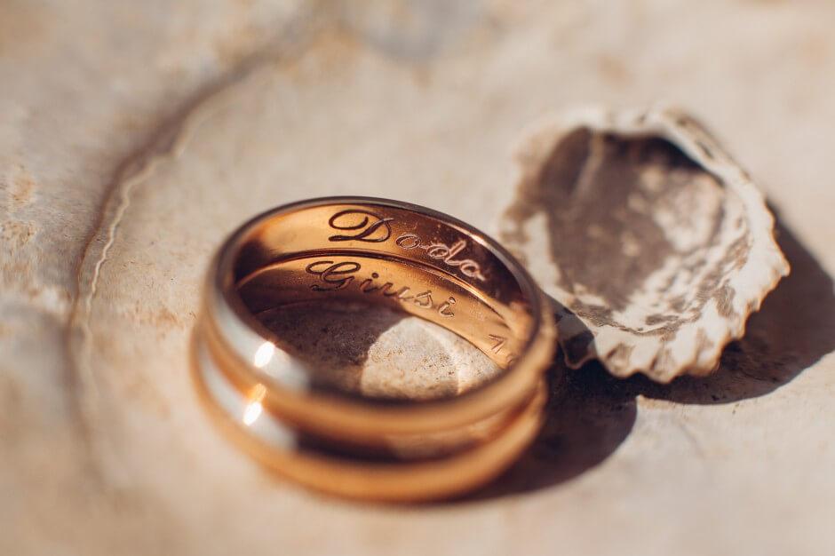 fotografo matrimonio anello dettaglio