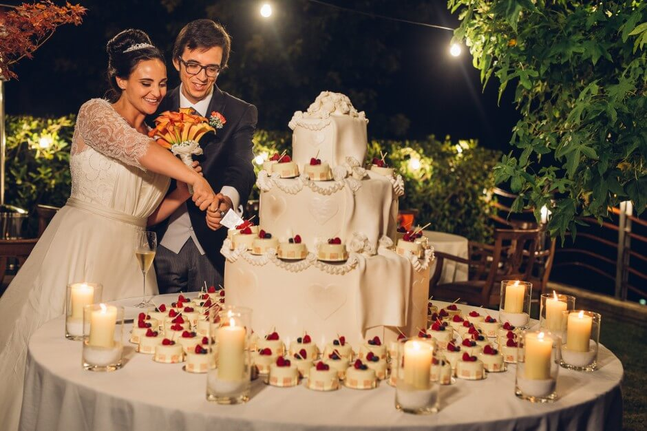 taglio della torta langhe