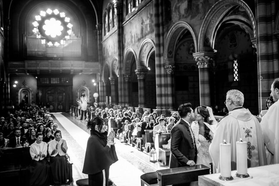 matrimonio invernale cerimonia religiosa