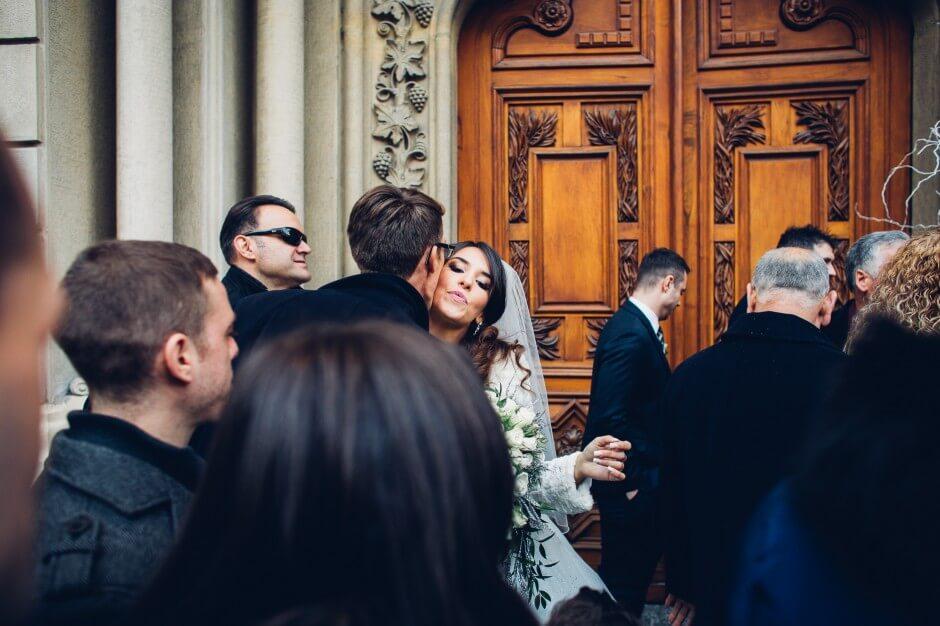 matrimonio invernale cerimonia chiesa