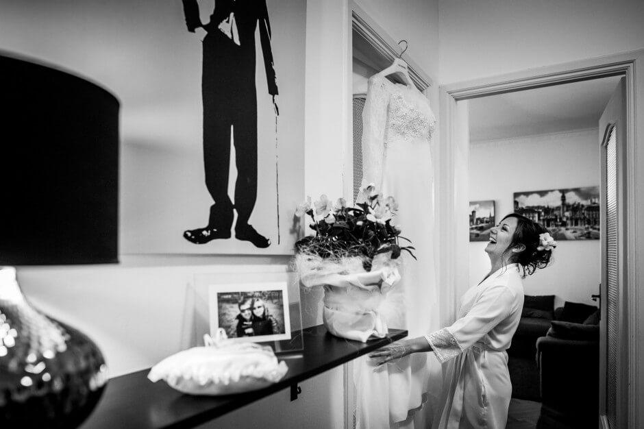 fotografo matrimonio sposa abito