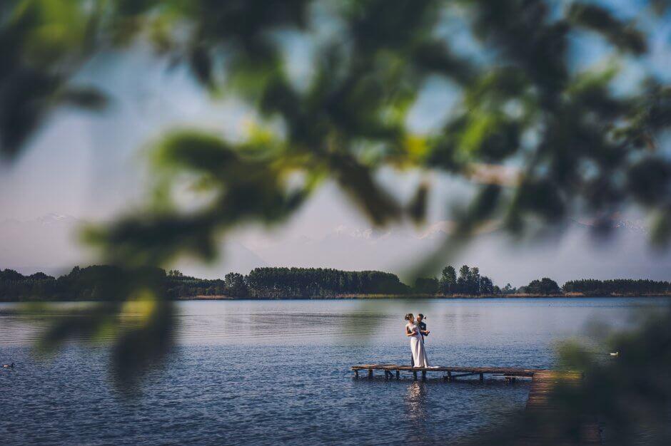 fotografo matrimonio lago di candia