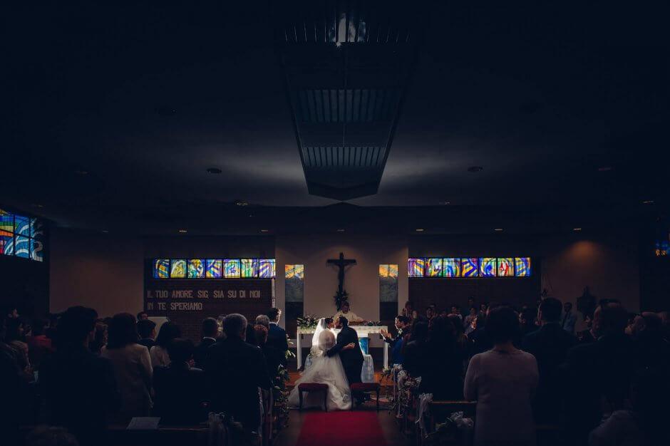 fotografo matrimonio chiesa borgaretto