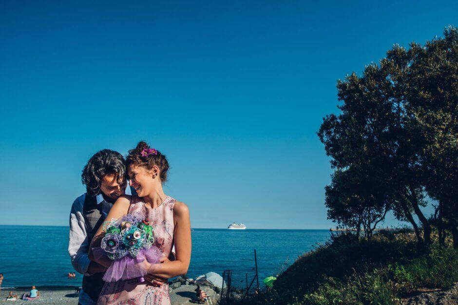 fotografo matrimonio sulla spiaggia