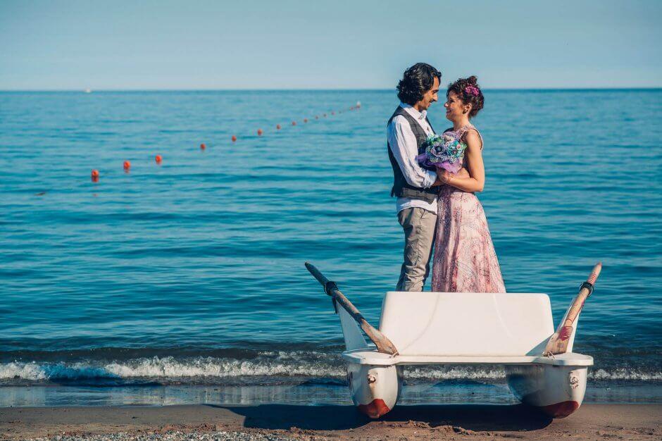 albissola marina matrimonio spiaggia
