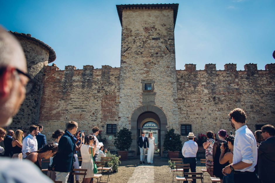 matrimonio castello gabbiano
