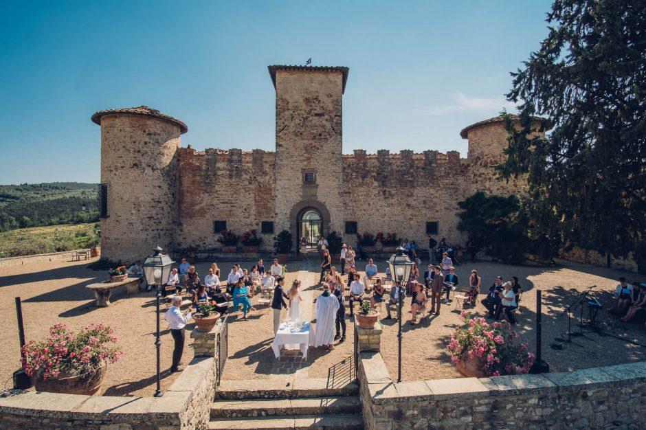 Wedding ceremonies in Castello di Gabbiano