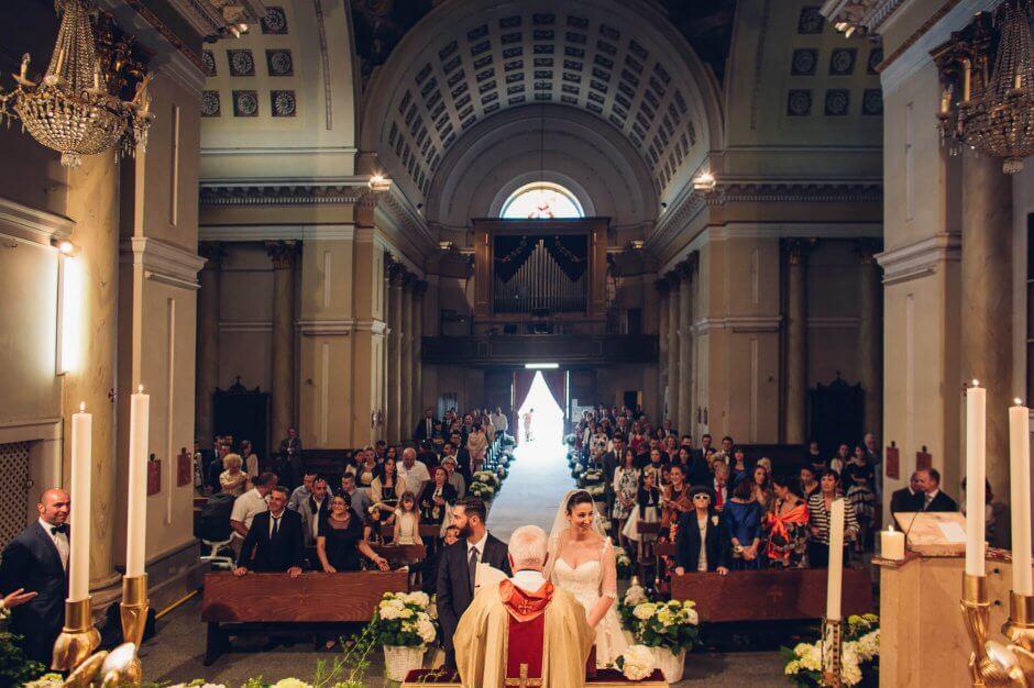 cerimonia matrimonio chiesa moncrivello