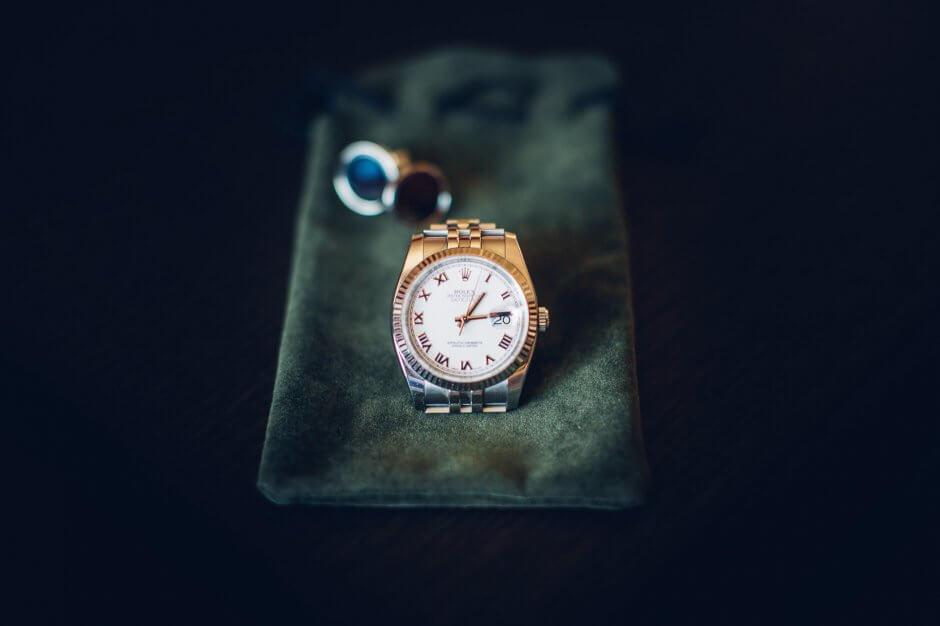 fotografo matrimonio bra orologio