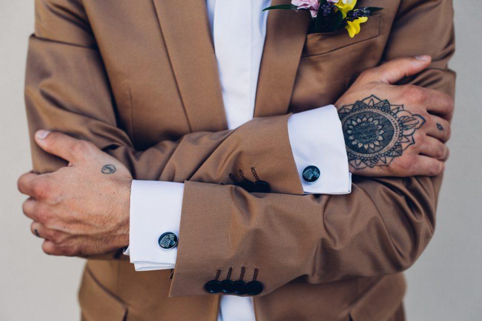 tatuaggio sposo
