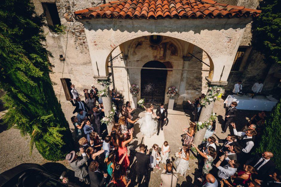 wedding church belgirate
