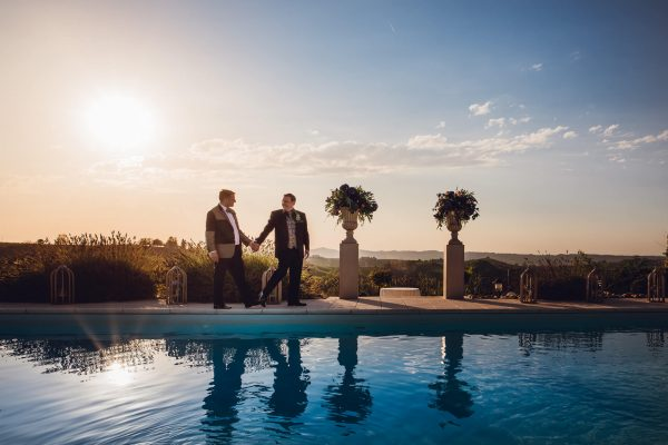 gay destination wedding italy mombaruzzo