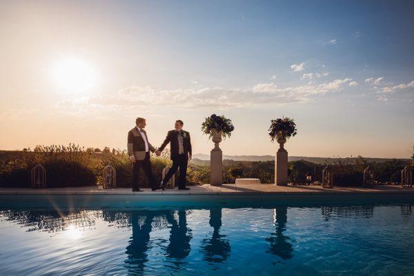 gay destination wedding italy mombaruzzo