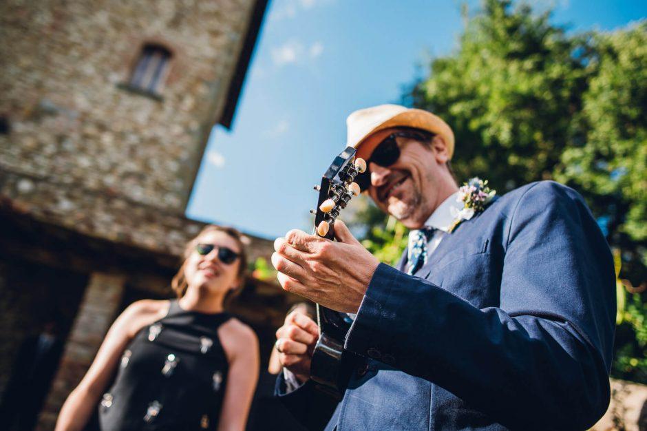 wedding italy ukulele
