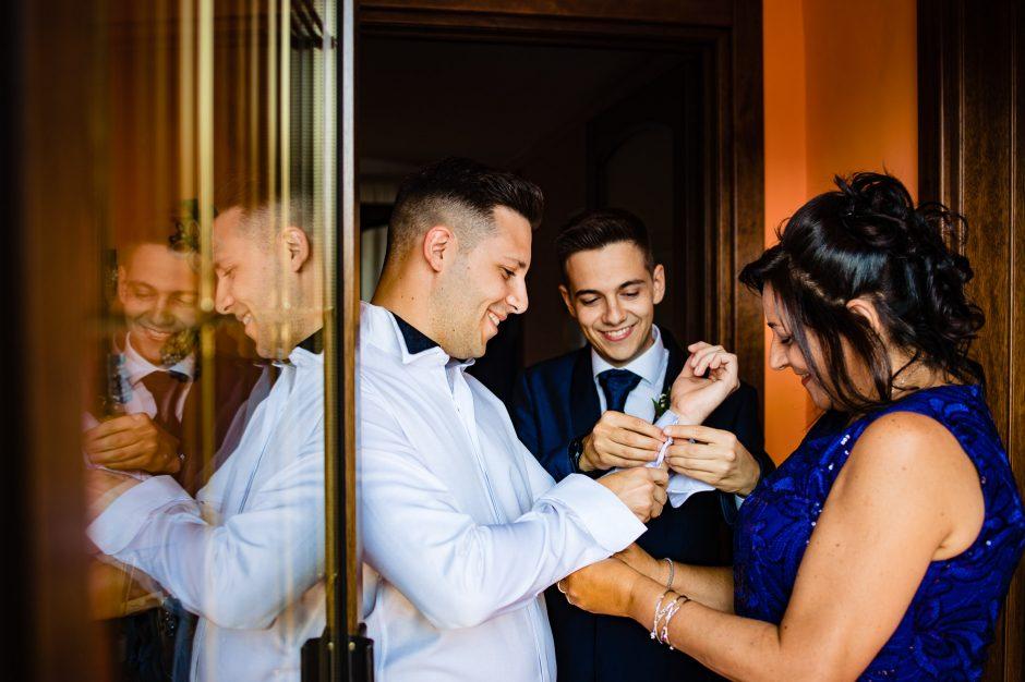 preparazioni sposo