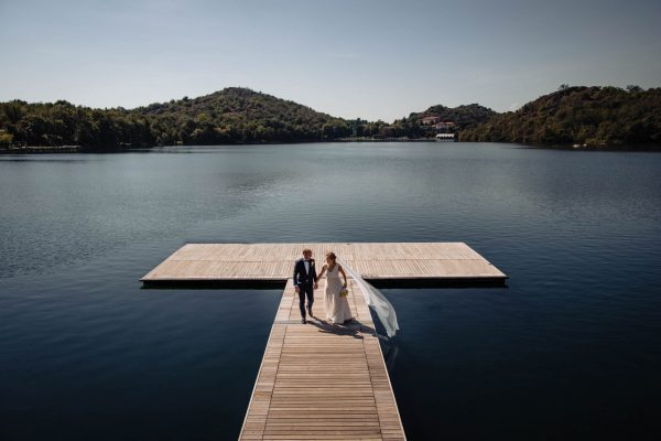 lago sirio sposi