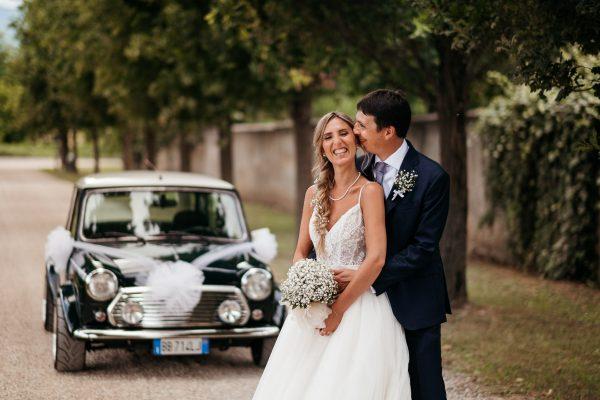 matrimonio tema auto mini cooper